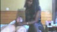 Ebony Prostitute Handjob