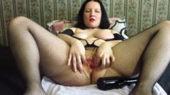 Fisted And Bottle In The Fanny In A Mature Mother!