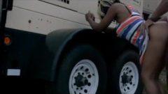 Nailing At The Truck Stop