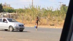 Brasil Pantyless Sluts Sheer Dress