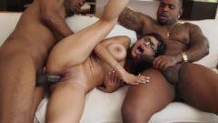Mia Khalifa – Enormous Breasts Arab Pornstar Enjoying An Interracial Threesome