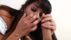 Mercedes Carrera Busty Cleaning Woman Bitch